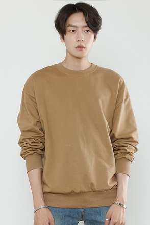 BASIC SIMPLE MTM 베이직 심플 맨투맨[13color / one size]